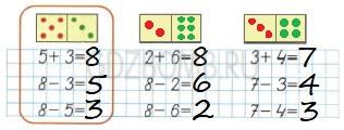 Математика 1 класс рабочая тетрадь Моро 2 часть страница 11