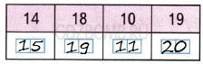 Математика 1 класс рабочая тетрадь Моро 2 часть страница 25