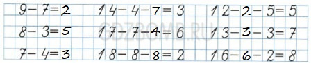 Математика 1 класс рабочая тетрадь Моро 2 часть страница 29