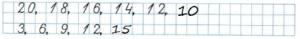 Математика 2 класс рабочая тетрадь Моро 1 часть страница 3