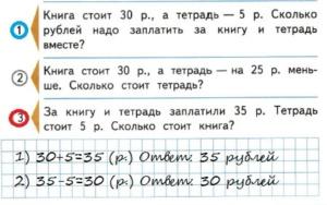 Математика 2 класс рабочая тетрадь Моро 1 часть страница 34