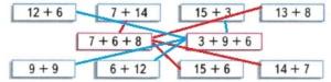 Математика 2 класс рабочая тетрадь Моро 1 часть страница 41