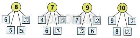 Математика 1 класс рабочая тетрадь Моро 1 часть страница 45