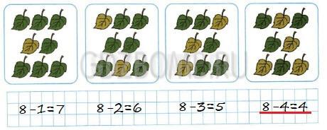 Математика 1 класс рабочая тетрадь Моро 1 часть страница 46