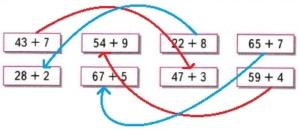 Математика 2 класс рабочая тетрадь Моро 1 часть страница 47
