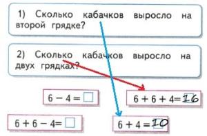 Математика 2 класс рабочая тетрадь Моро 1 часть страница 7