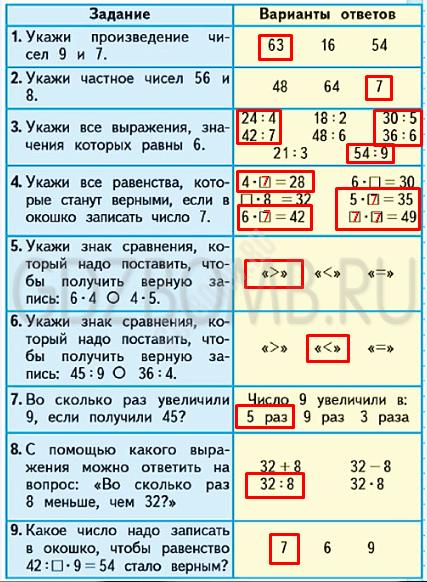 Математика 3 класс учебник Моро 1 часть страница 81